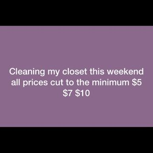 Other - CLEANINGS WEEKEND. 6/14/ 19.  6/16/19